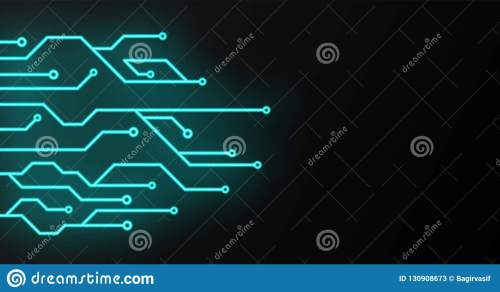 small resolution of circuit board sign icon technology scheme square symbol vector illustration glowing