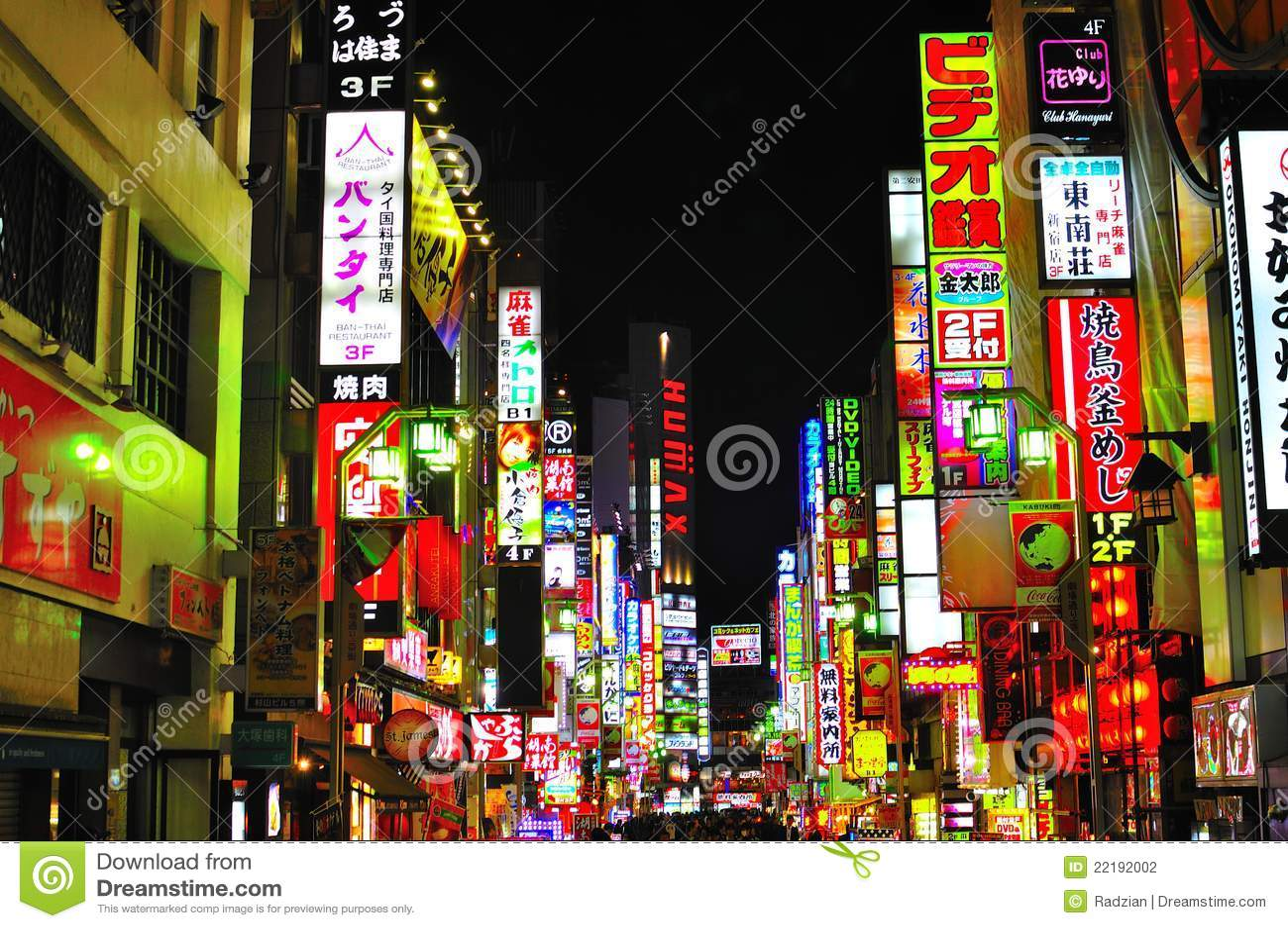 Tokyo Red Light District