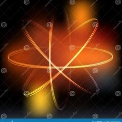Neon Atom Diagram Warn Xd9000i Solenoid Wiring Model Royalty Free Stock Photography Cartoondealer
