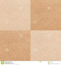 New Beige Checkered Carpet Texture Stock Photo