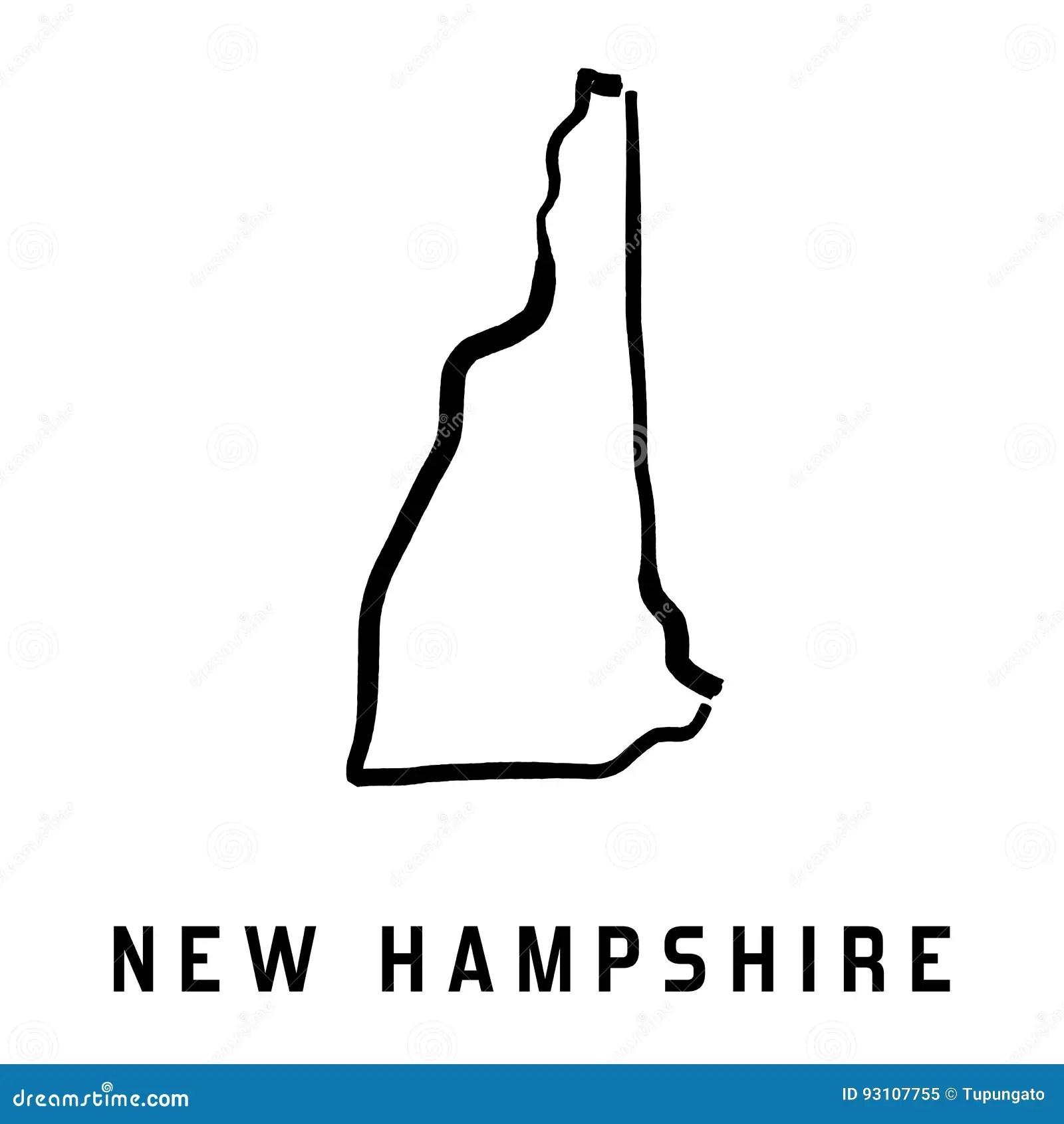 New Hampshire Stock Vector Illustration Of Symbolic