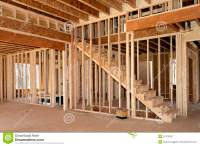 New Home Construction Interior Stock Image - Image: 51379397