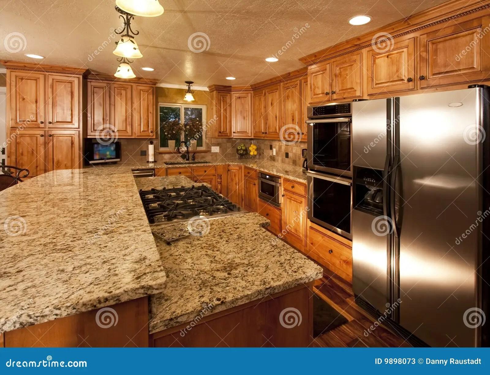 New Kitchen Island Stock Photos Image 9898073