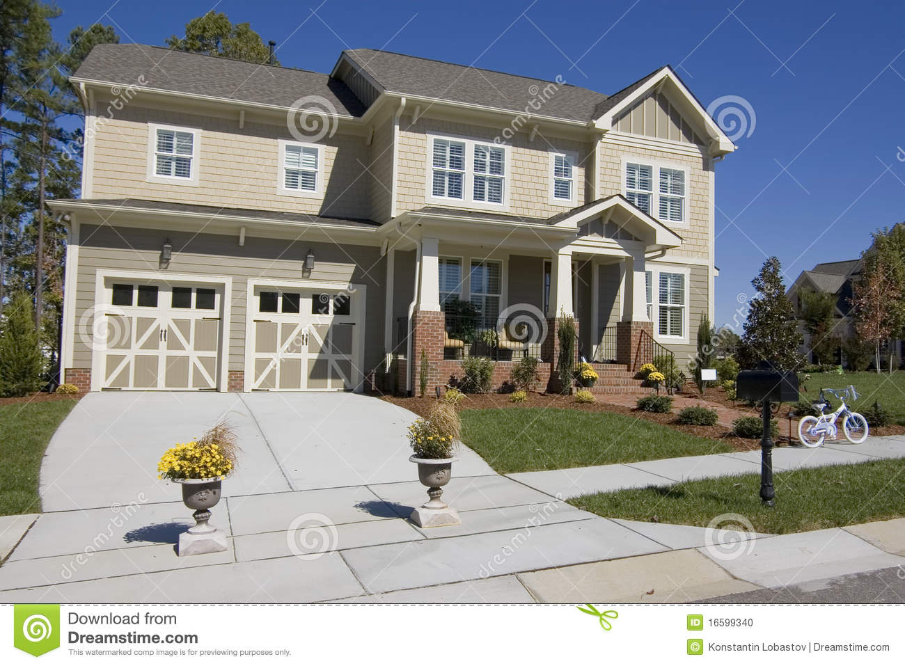Best Kitchen Gallery: New Suburban House For Sale Stock Photo Image Of Estate America of New House Sale on rachelxblog.com