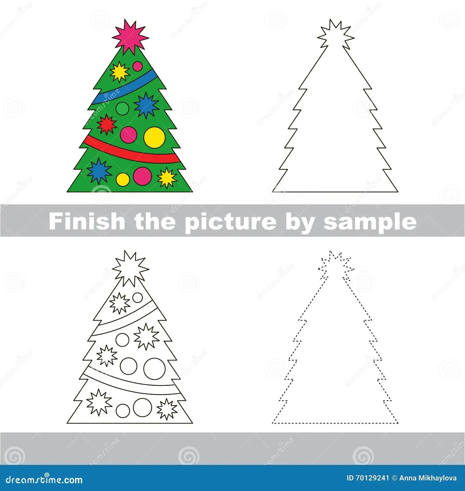Xmas Trees Worksheet