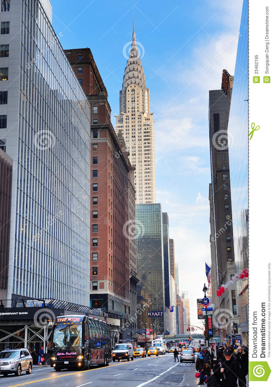 New York City Chrysler Building Editorial Image Image