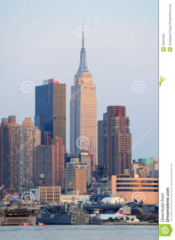 York City Empire State Building Editorial Stock