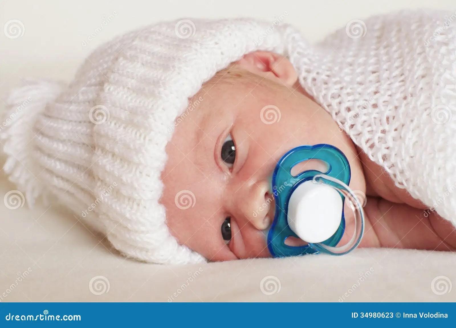 newborn baby boy with