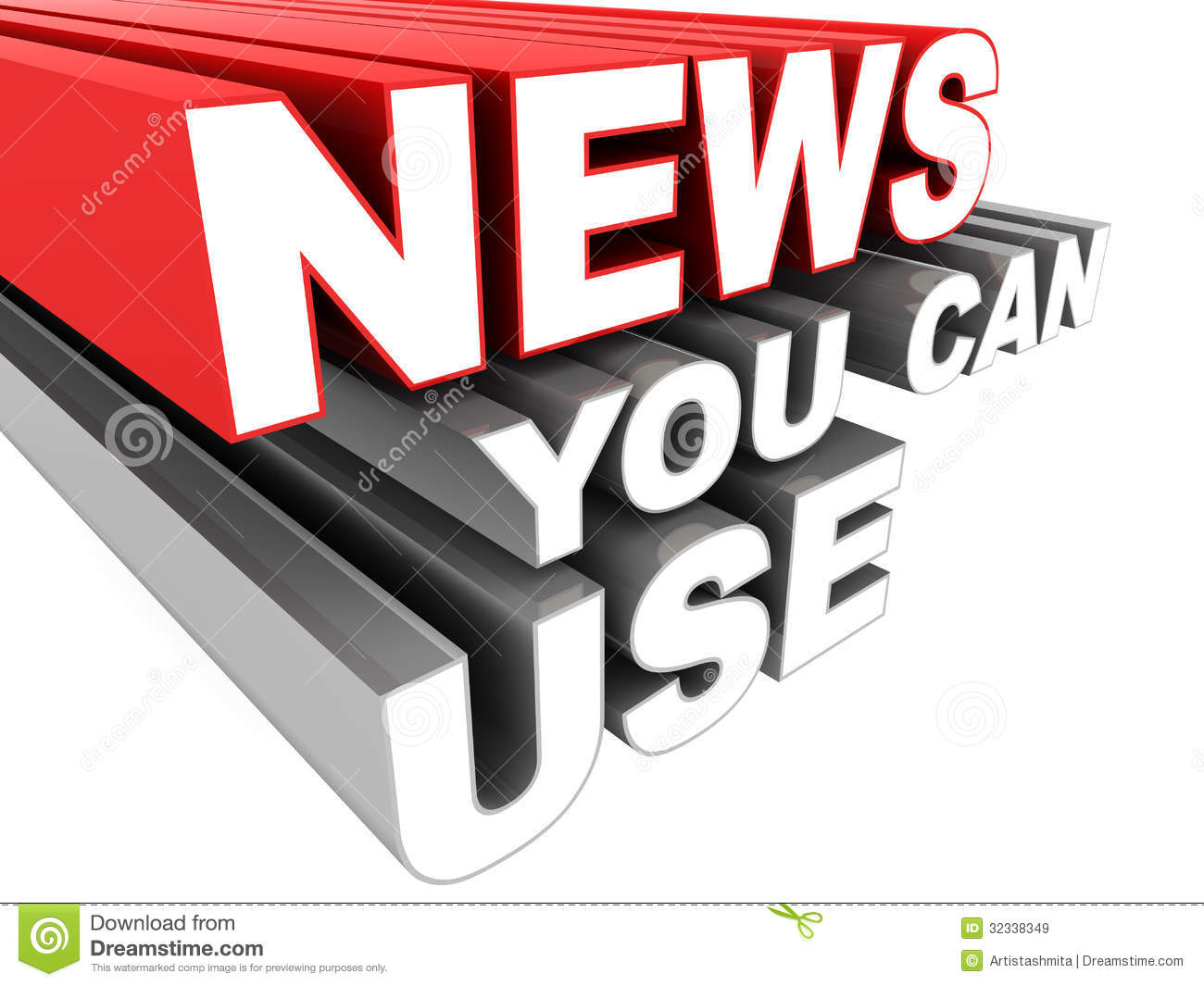 News You Can Use Royalty Free Stock Images  Image 32338349