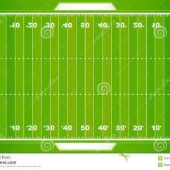 Football Pitch Diagram To Print Float Switch Wiring Nfl Field Eps Stock Vector Illustration Of