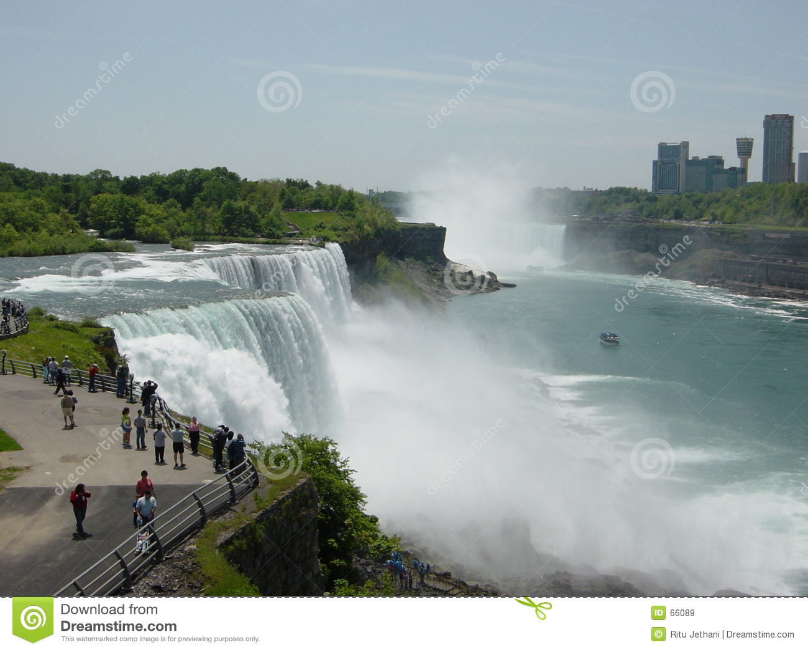 Niagara Falls Moving Wallpaper Niagara Falls Usa Canada Stock Image Image Of Horseshoe