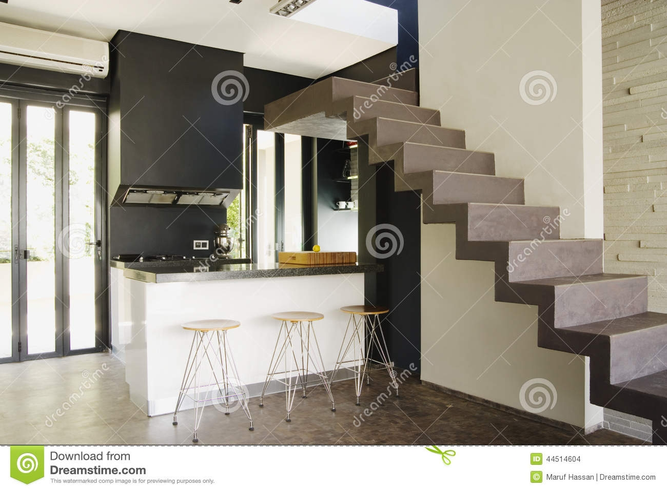 Nice Interior Duplex Living Room Stock Photo Image Of Furniture | Duplex Living Room With Stairs | Modern | Single Room | Duplex Step | Indoor | Balcony