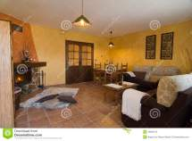 Nice Living Room. Stock Of Cozy Furniture