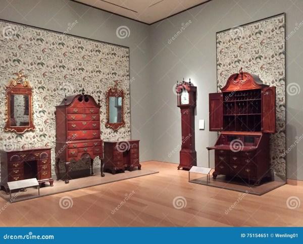 Nice Museum Of Fine Arts Boston Interior Editorial