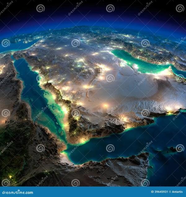 Saudi Arabia From Space