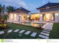 Night Shoot Luxury And Private Villa With Pool Outdoor ...