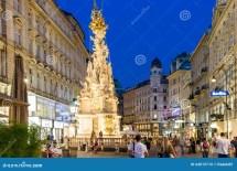 Graben Street Vienna Editorial