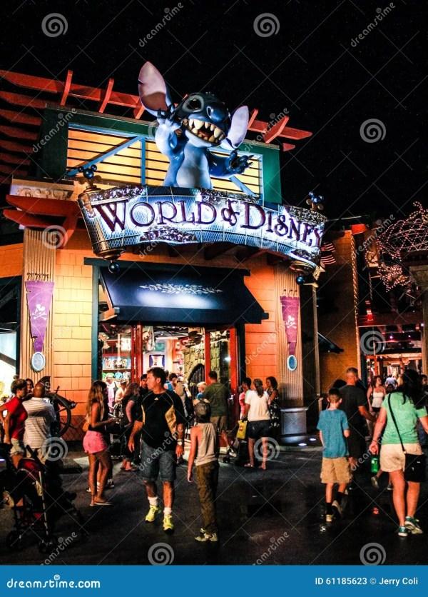 Downtown Disney In Orlando Florida Editorial #4872252
