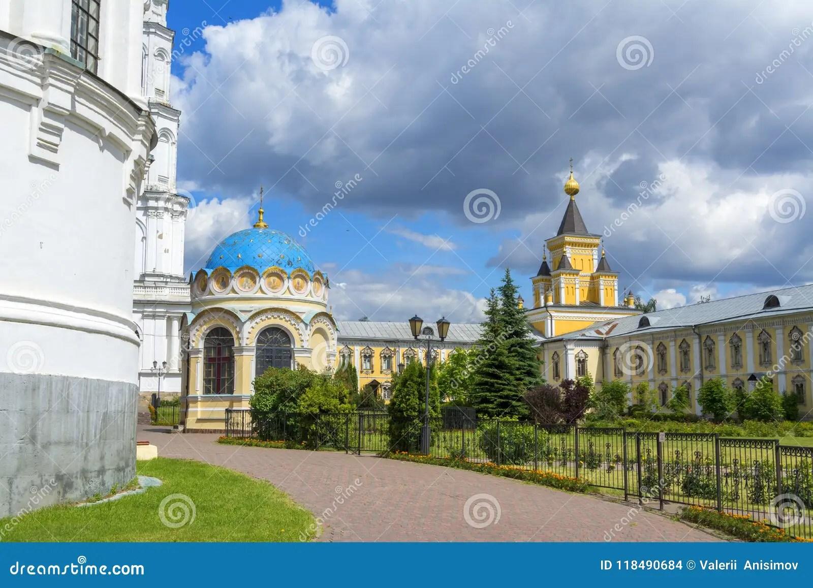 Nikolo Ugresha Monastery Russia Bell Tower Abbey