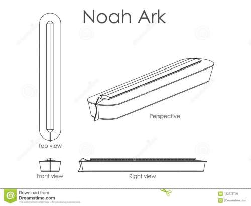 small resolution of noah ark outline only