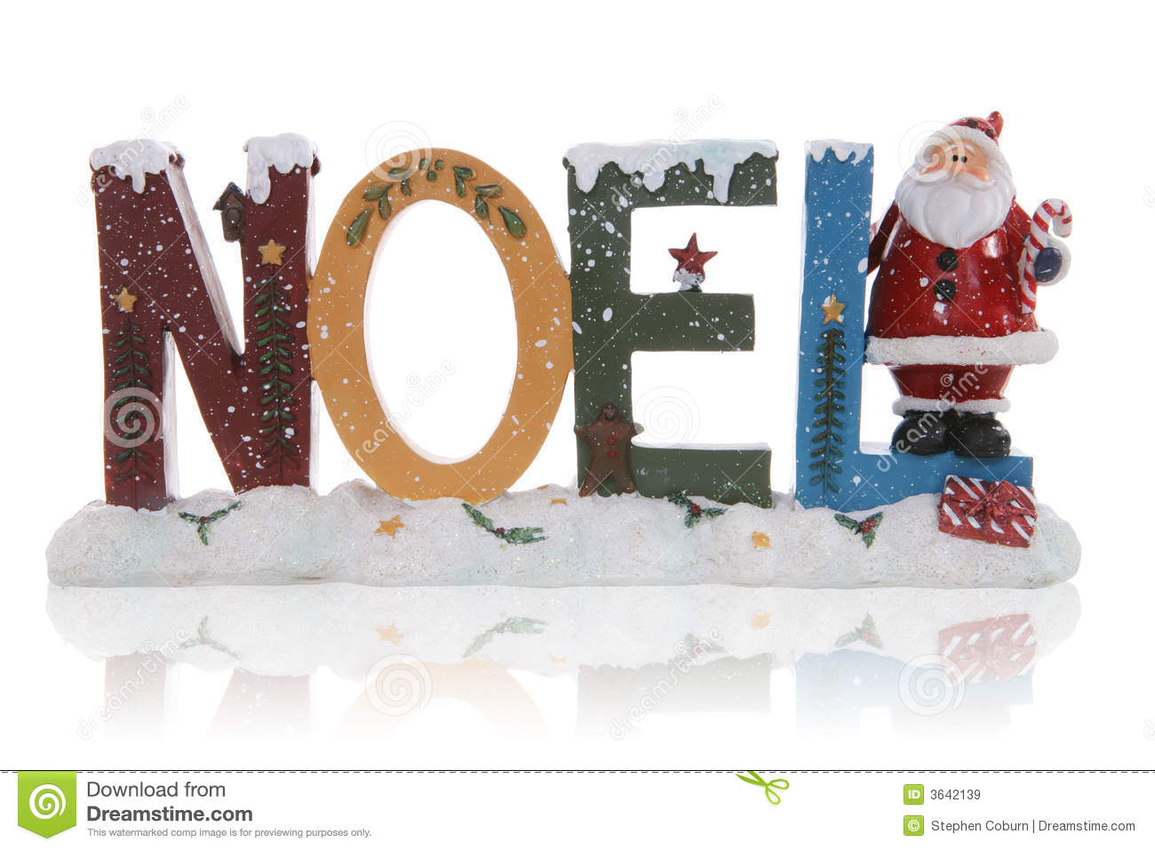 Noel Christmas Sign Royalty Free Stock Images Image 3642139