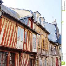 Medieval House Normandy France