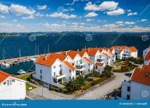 Norwegian Traditional Architecture Stock