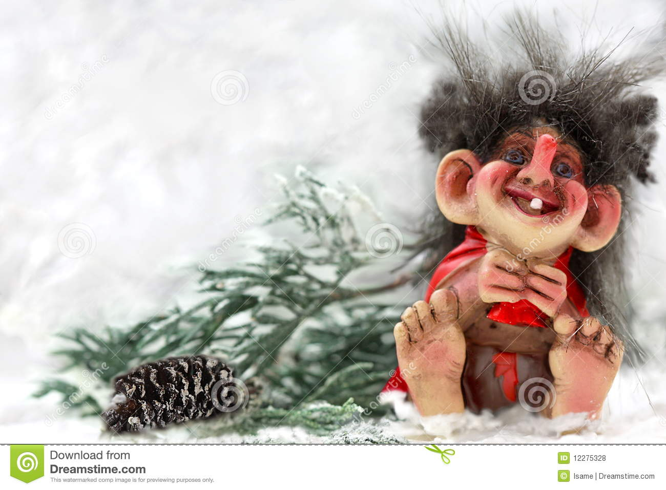 Norwegian Troll Royalty Free Stock Photos Image 12275328