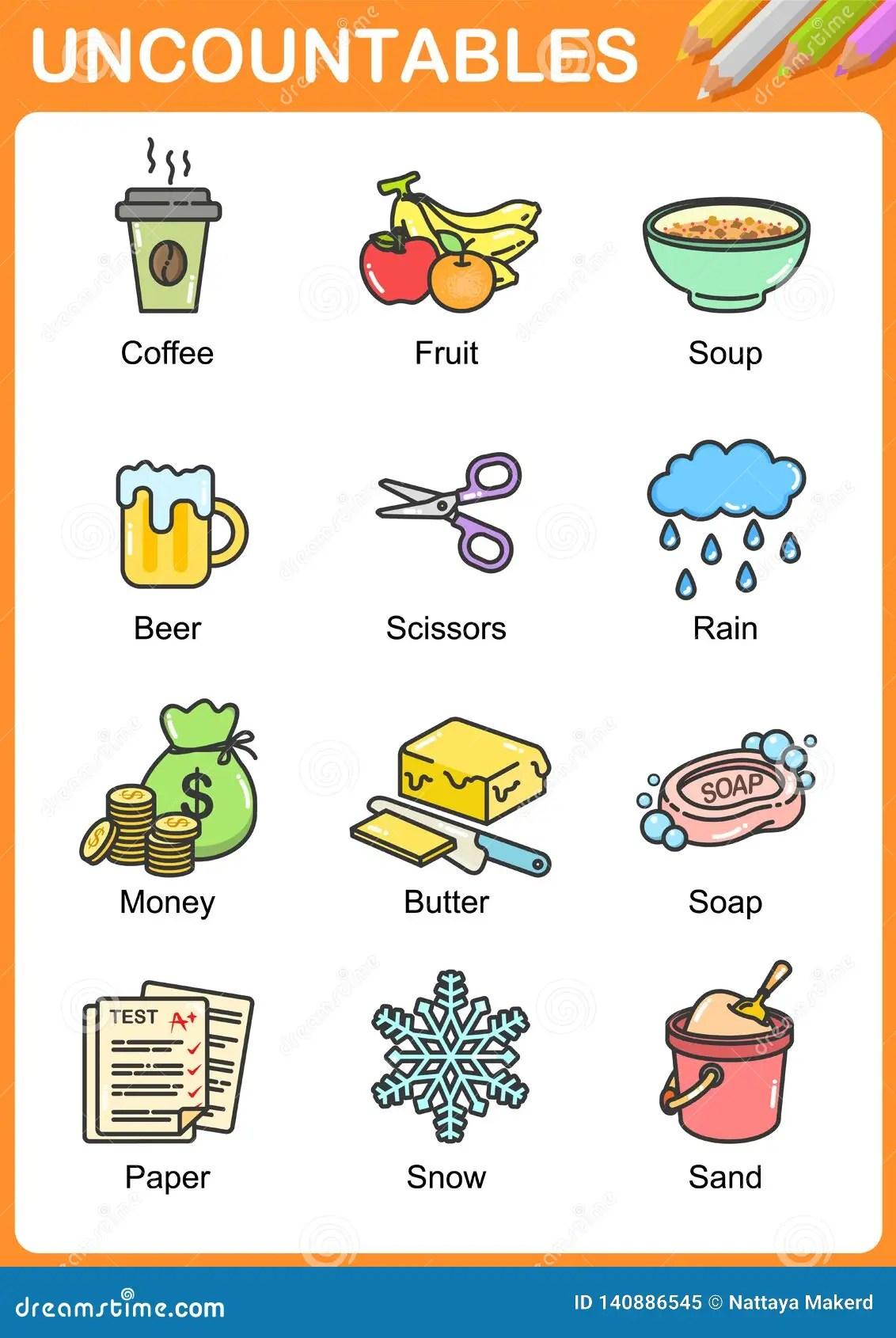 Christmas Nouns Worksheet For Kindergarten