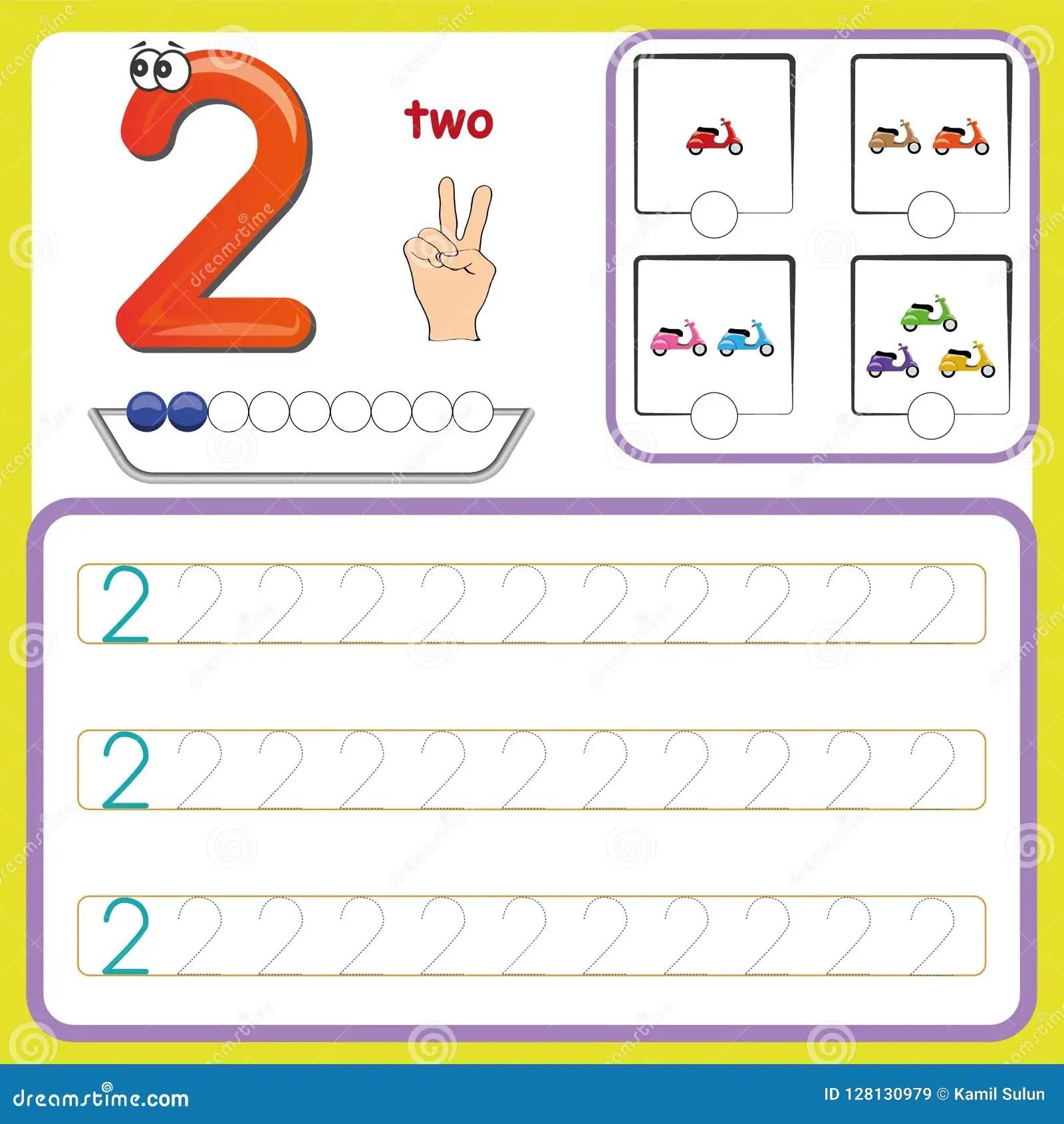 Nummerieren Sie Karten Und Zahlen Zahlen Und
