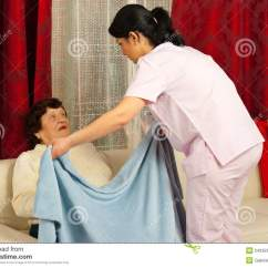 Wheelchair Blanket Chair Exercises Pdf Nurse Covering Elderly With Royalty Free Stock Photography - Image: 24035347