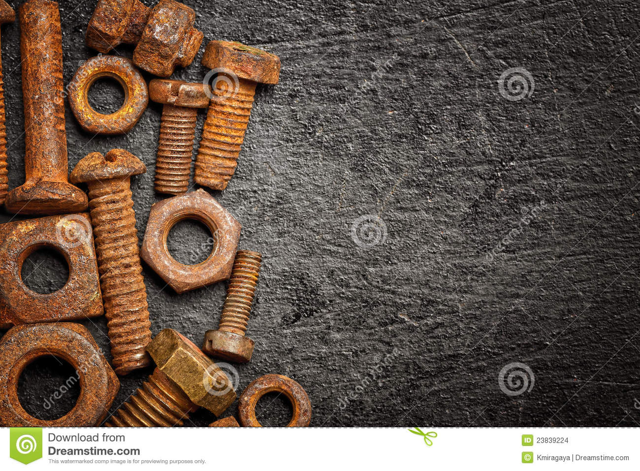 Antique Nuts And Bolts