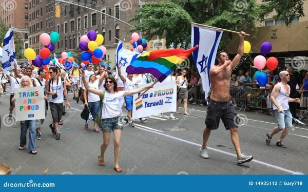 Nyc Gay Pride March Editorial