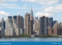 Nyc View Of East Midtown Manhattan Skyline Stock