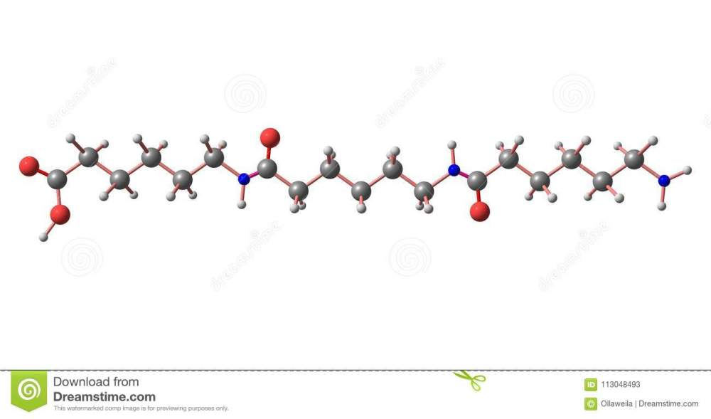 medium resolution of nylon is a generic designation for a family of synthetic polymers based on aliphatic or semi aromatic polyamides 3d illustration