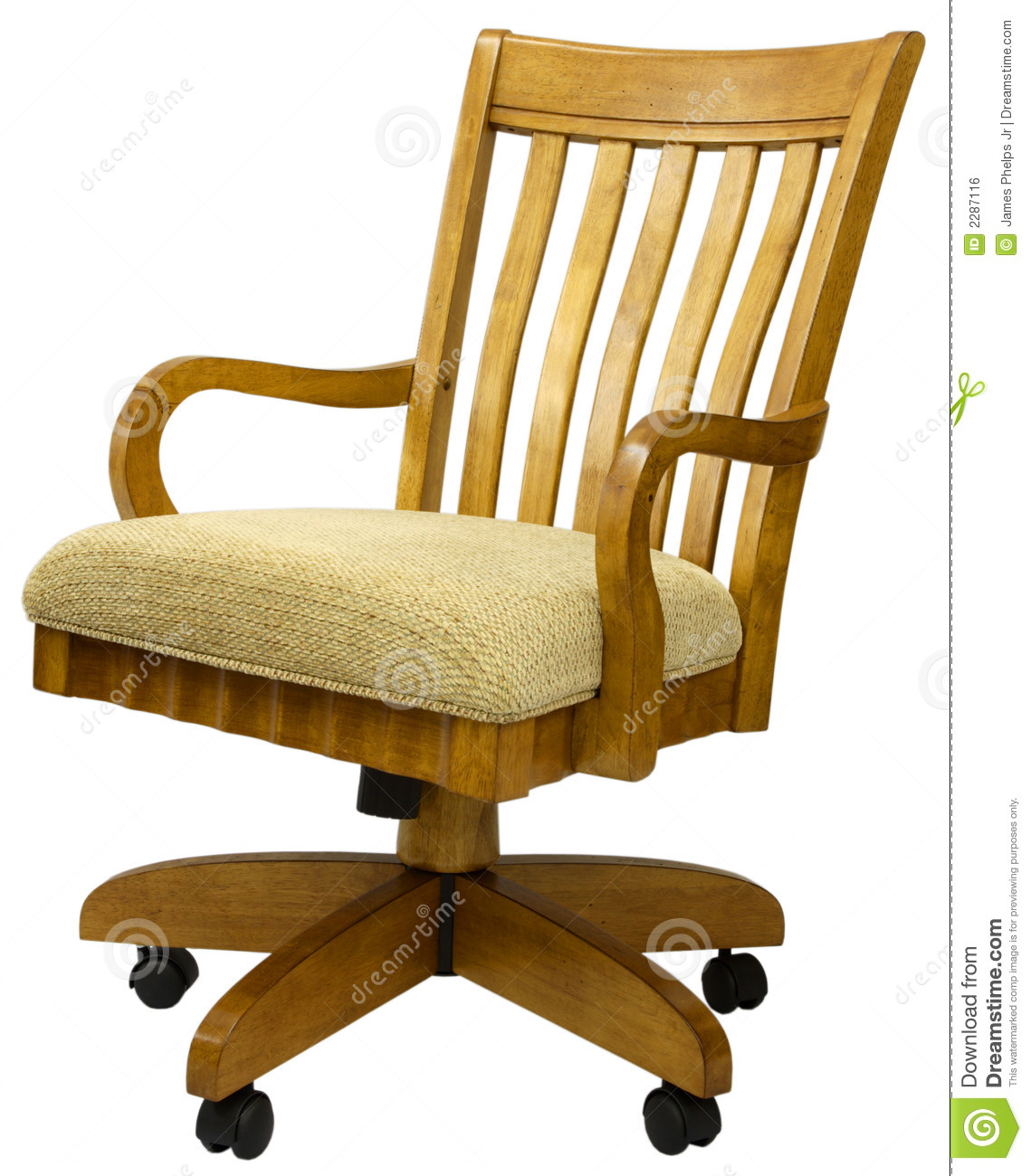 oak desk chair church chairs office stock photo image of design