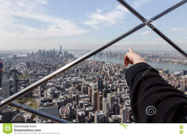 Observation Deck Of Empire State Building Editorial
