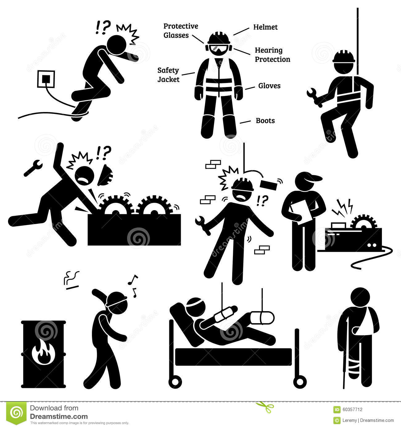 Occupational Safety And Health Worker Accident Hazard