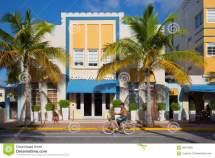 Ocean Five Hotel In Miami Beach Florida Editorial