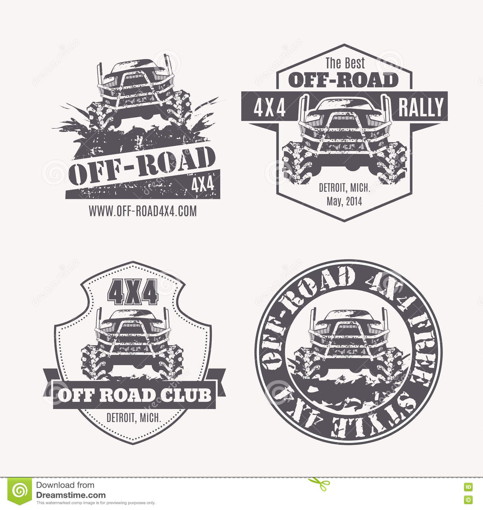 Race Car Emblems