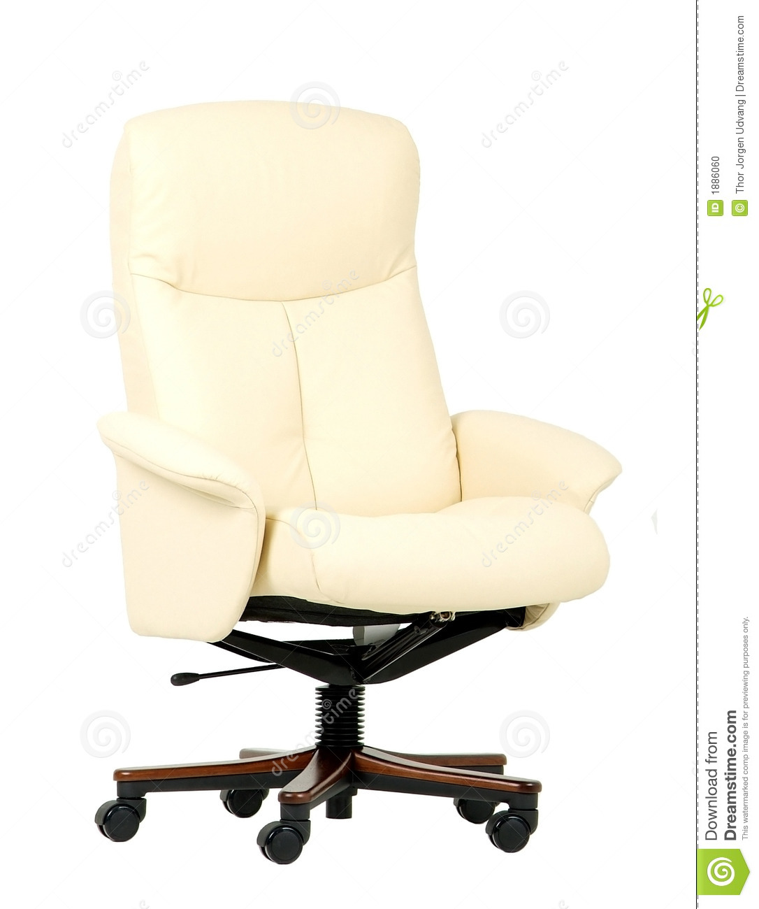 Luxury Office Chair Off White Luxury Office Chair Stock Photo Image 1886060
