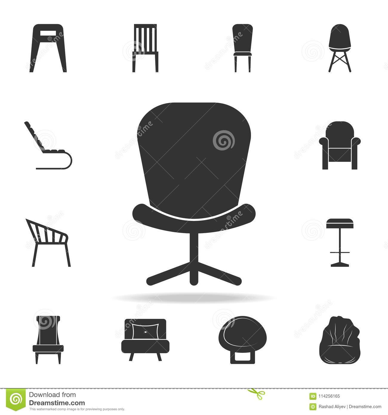 chair design icons desk pink office icon detailed set of furniture premium quality graphic one the collection for websites web mobile app on white