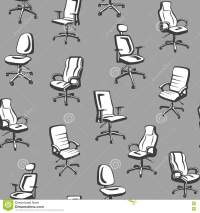 Office Chairs Seamless Pattern. Stock Vector - Image: 73006768