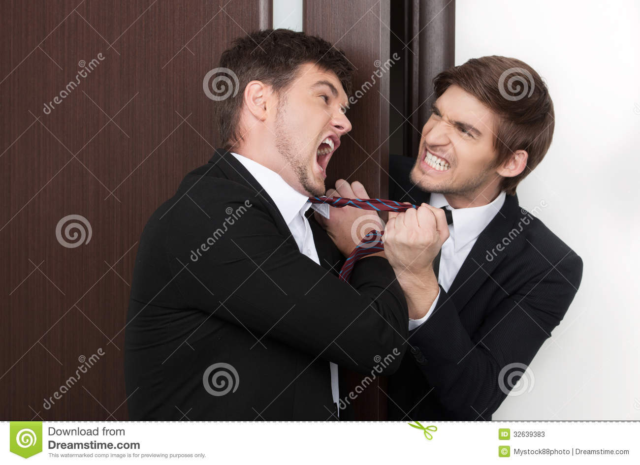 Office Conflict Stock Photos