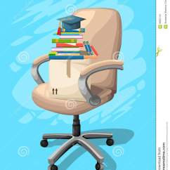 Chair Design Back Angle Round Reading Office Or Desk In Various Points Of View Armchair Stool Front Side Angles Corporate Castor Furniture Flat Icon