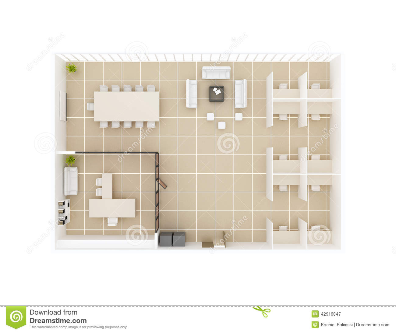 desk chair plan view chairs for church office floor top stock illustration