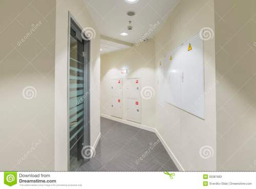 small resolution of corridor with light colored walls glass dorr and fire box fuse box