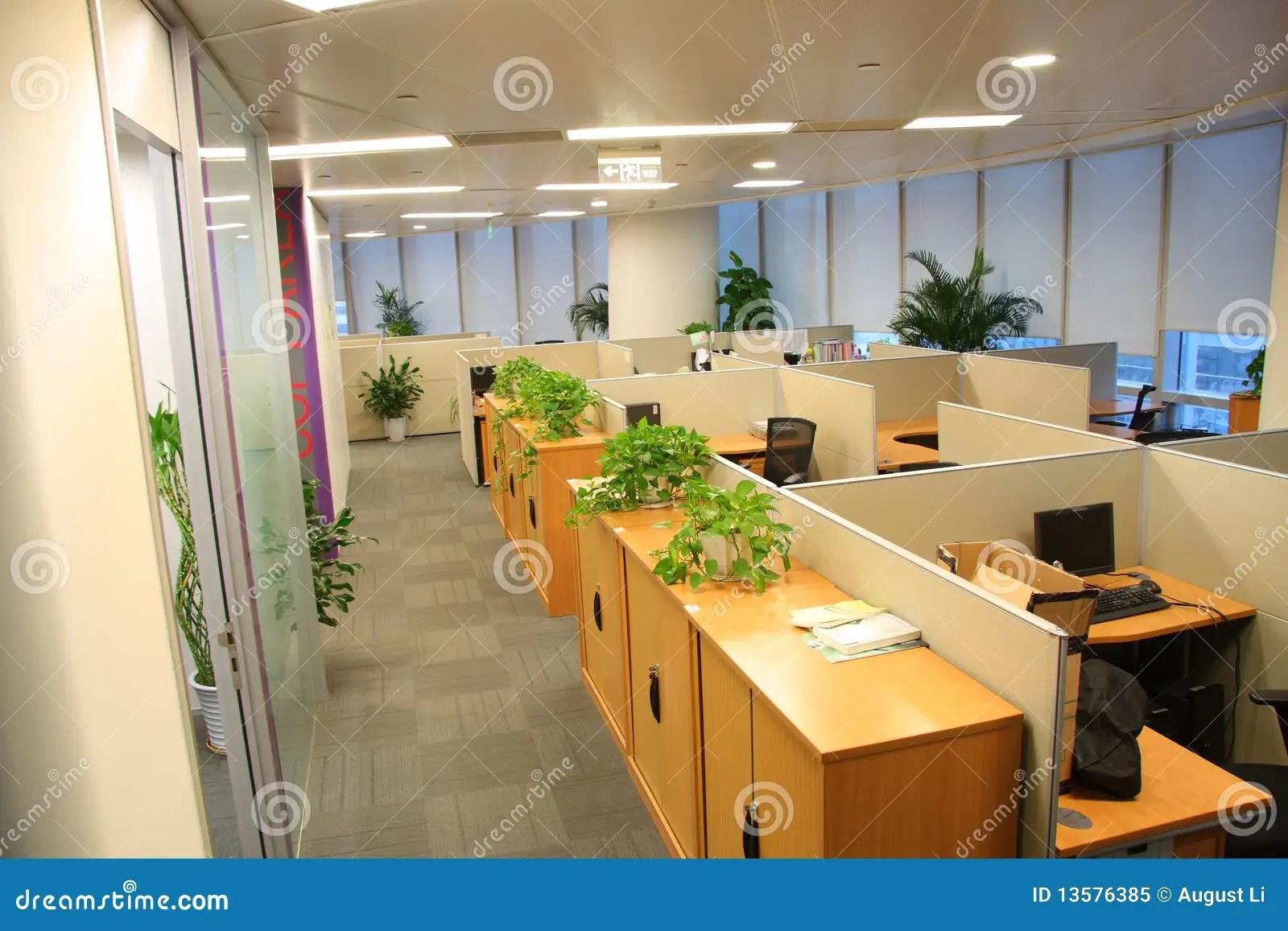 Office settings stock image Image of furnishing inside