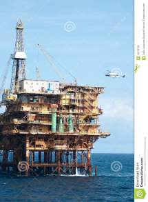Offshore Oil Rig Helicopters