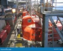 Offshore Oil Platform Escape Pods